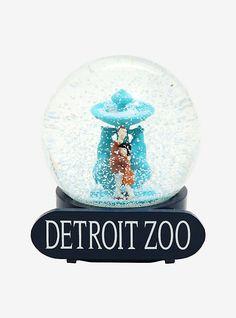 BUTTON CORNER teddy Resin Snow Globe en Poison Box