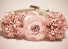 Wedding dog collar