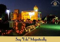 Why just hunt for royal décor when you could have a royal venue for your weddings too? Tie the knot in a majestic palace, #BalaramPalaceResort.