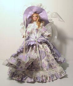 12 Fashion Doll costumed in Victorian dress by DonnaDeesDollShop, $40.00