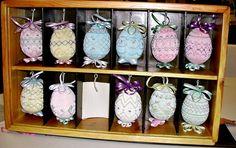 Smocked Easter Eggs. LOVE IT!!!!!!!