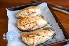Artichoke Stuffed Chicken - Supper Club Menu #1