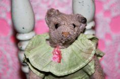 Antique 5 white Steiff teddy bear Rare button by bebesandbruins