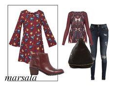 #Marsala. El color de la temporada. Consigue el look con @SURKANA @Pikolinos_Shoes @mambomadrid y @SocialAzura