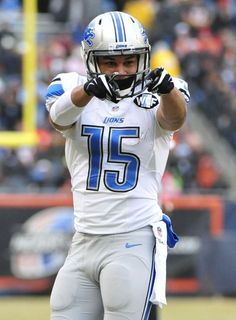 Golden Tate points after making a first down, 12/21/2014
