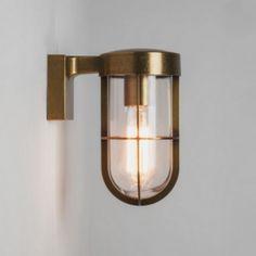 Astro Lighting - Applique extérieure Cabin Wall Light IP44 - Laiton