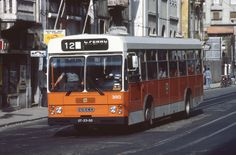 Carris Iveco 470 3013 | Rua Febo Moniz Lisbon - 11/6/1983 | Flickr Mikey, Lisbon, Iveco, Cars And Motorcycles, Books, Projects, Old Photos, Turismo, Places