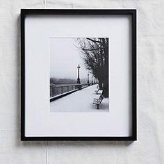 Black Fine Wood Frame 8x10''