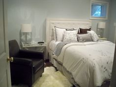 BASEMENT GUEST ROOM | basement guest bedroom, Recently finished our basement. Created guest ...
