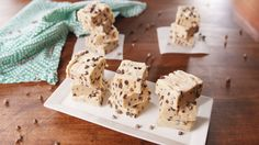 You Should Be Making Cookie Dough Fudge For Everyone On Your List This ChristmasDelish Fudge Recipes, Candy Recipes, Sweet Recipes, Cookie Recipes, Dessert Recipes, Dessert Bars, Cookie Dough Fudge, Cookie Dough To Eat, Just Desserts