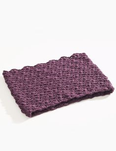 Yarnspirations.com - Caron Lacy Cluster Cowl - Patterns  | Yarnspirations