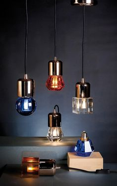 Luminaires Nubulbs, by Selab + Alessandro Zambelli, for Seletti