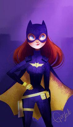 Geraldine Rodríguez GeryRdz Batichica or #Batgirl for @Sketch_Dailies