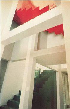 Escalera: Casa VI - Peter Eisenman #arquitectura
