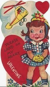 Image result for vintage valentine card lock and key