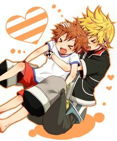 Ventus and Sora