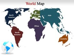 27 best Interactive Powerpoint Maps of USA images on Pinterest   Ppt     Interactive World Map Powerpoint  World Map Outline with Countries Labeled