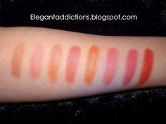Coastal Scents Metal Mania Palette swatches.  Tenth column top to bottom.