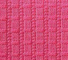 knitting stitches - Buscar con Google