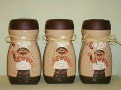 1 million+ Stunning Free Images to Use Anywhere Coffee Jar Crafts, Coffee Jars, Mason Jar Crafts, Painted Milk Cans, Painted Jars, Glass Bottle Crafts, Bottle Art, Bottles And Jars, Glass Jars