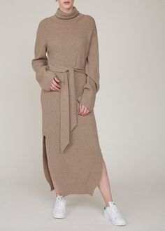 London College Of Fashion, Taupe, Cashmere, Product Launch, Breast, Turtle Neck, Knitting, Sweaters, Clothes