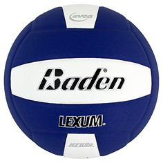 Baden Lexum Microfiber Volleyball Purple/White - Team Sports, Volleyball Equipment at Academy Sports Volleyball Equipment, All Volleyball, Personal Defense, Soccer Ball, Feel Good, Indoor, Sports, Products, Diving