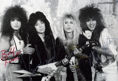 Bobby Rock, Vinnie Vincent, Dana Strum, Mark Slaughter