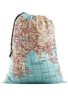 Where It's Atlas Laundry Bag