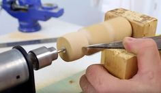 Make a DIY mini lathe at home yourself!