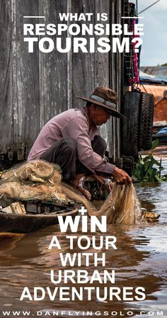 What is Responsible Tourism? Chance to win an Urban Adventures tour…