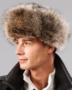 29230083a141b Men s Fur Hats. Trooper HatRussian FashionRussian ...