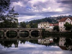 A bridge between sky and river by loureirogc. Please Like http://fb.me/go4photos and Follow @go4fotos Thank You. :-)
