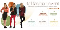 Our sponsor Ross Stores has 5 Fall trends that they absolutely love! Check them out on their website