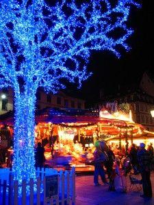 Christmas market in Strasbourg, Germany.
