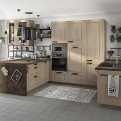 Cuisine rouge et blanche Leroy Merlin Quality Cabinets, Open Kitchen, Luxury Vinyl, Cozy House, Bedroom Wall, Decorating Your Home, Storage Spaces, Home Furnishings, Home Furniture