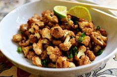 Spicy Cauliflower Stir-Fry **swap coconut or red palm for the vege oil to make it THM friendly!