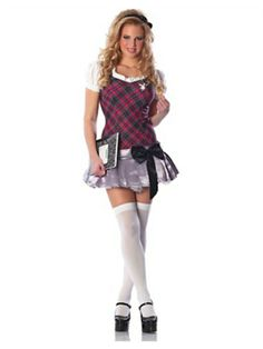 Ladies Costume Fancy Dress Up Sexy Playboy School Girl Sz 10 12 14 Sexy Nurse Costume, Sexy School Girl Costume, School Girl Outfit, Easy College Halloween Costumes, Halloween Costumes For Girls, Costumes For Women, Girl Costumes, Costume Ideas, Adult Halloween