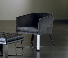 Armchairs | Seating | Lolita Chair Pouf | Meridiani | Andrea. Check it on Architonic