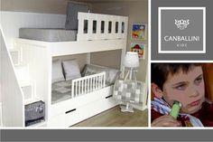 Literas con tres camas. Mobiliario infantil y juvenil de diseño.