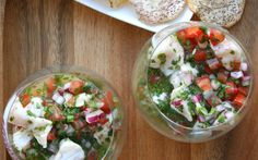 Snapper Ceviche with Chiles and Herbs Recipe - Chowhound