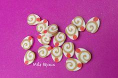 "fettine fimo ""cupcake girella"", by Mila Bijoux, 0,05 € su…"