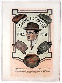 1914 spring & summer hat styles