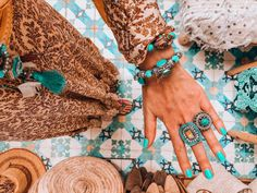 Bohemian style jewelry and fashion to love!