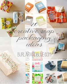 20 creative soap packaging ideas!