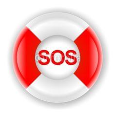 SOS - Rettungsring - Hochauflösende Grafik als Symbol für Rettung, Notfälle, Krisen,... Fotolia