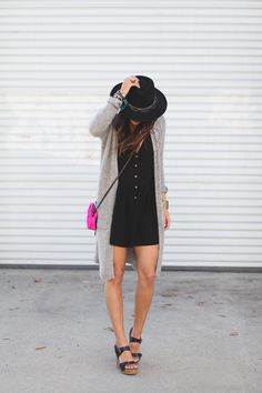 romper, hat, shoes, and cardigan