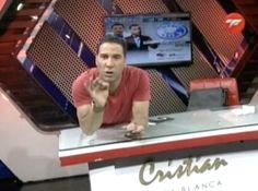 Cristian Casablanca: Yo no duermo casi, solo duermo gracias a las pastillas. Univision quiere que yo sea el próximo Walter Mercado