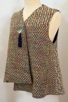Handwoven Clothing, Vest, Kathleen Weir-West, 12-001.JPG