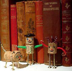 Cork characters   ...say hello!   Maral Sassouni   Flickr