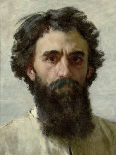 Domenico Morelli (1826 - 1901) - Self-portrait - Judging by the artist's appearance, the portrait may date from the early 1860s